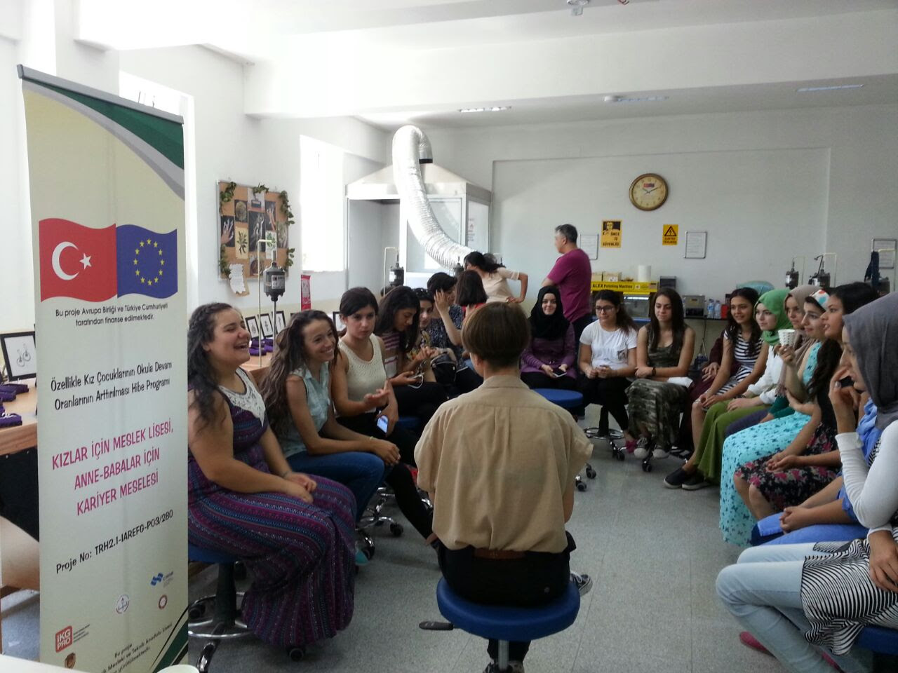 Last Field Trip to Hatay Vocational Education Project Is Realized