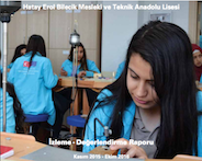 M&E Report of Hatay Erol Bilecik Technical and Industrial Vocational High School's project on vocational education for girls is Published